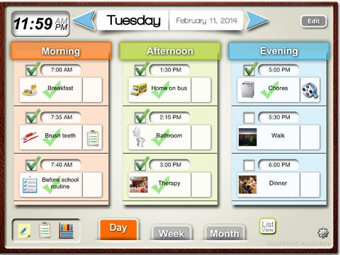 Visual Schedule Planner on the App Store on iTunes (With