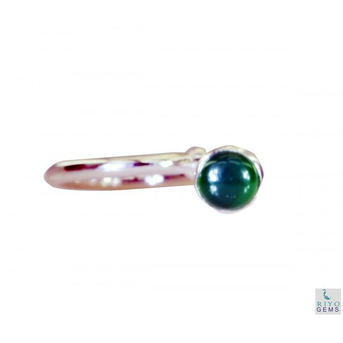 Riyo Crazy Green Onyx 925 Solid Sterling Silver Green Ring Srgon6-30007