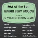Edible Playdough: The Best Recipe Experiment - Lemon Lime Adventures