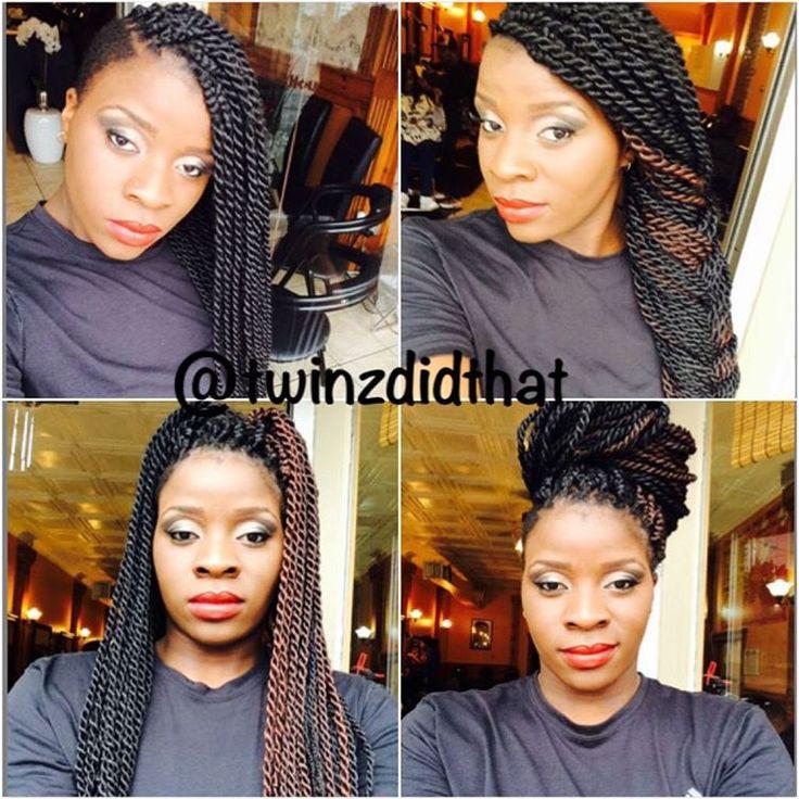 Style: Senegalese Twists  #braids #twists #ropetwist #naturalhair #senegalesetwists #beauty #protectivestyle #protectivestyles #hairstyle #hair #fallhair #blackhair #melanin #melaninpoppin #love #cute #follow #followme #like #beautiful #smile #selfie #style #amazing #hairfashion #hairinspo #feminine #hairlovers #faceoftheday #loveit