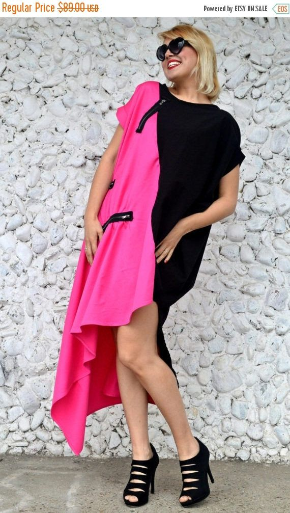 Now trending: PURPLE SALE 25% OFF Asymmetrical Color Block Dress, Pink and Black Maxi Dress, Casual Summer Dress... https://www.etsy.com/listing/521032937/purple-sale-25-off-asymmetrical-color?utm_campaign=crowdfire&utm_content=crowdfire&utm_medium=social&utm_source=pinterest