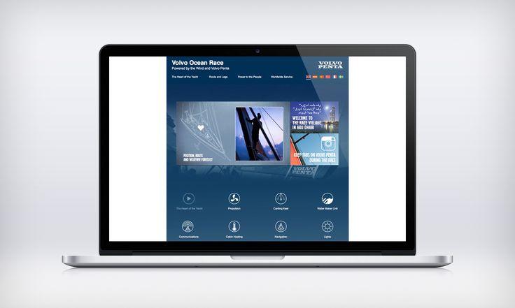 Kampanjwebb för Volvo Penta.