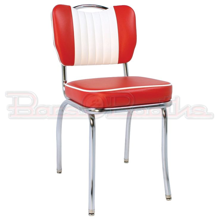 Retro Chrome Diner Chairs in Several Styles   Colors25 best 1950s 60 dining settings   red images on Pinterest   1950s  . Red Retro Diner Chairs. Home Design Ideas