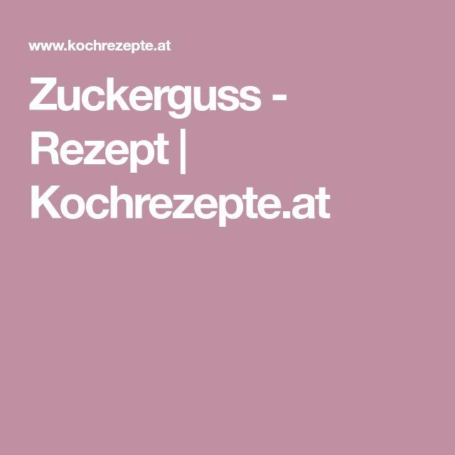 Zuckerguss - Rezept | Kochrezepte.at