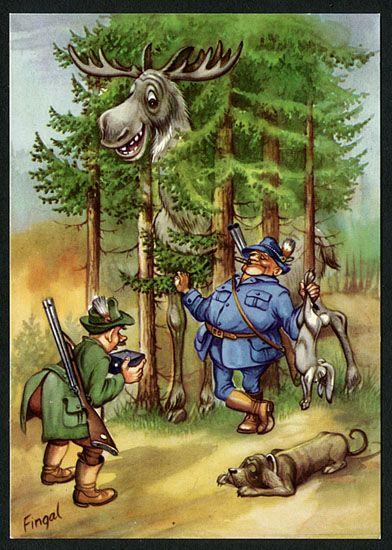 Картинки, смешные картинки про охоту и рыбалку в тайге