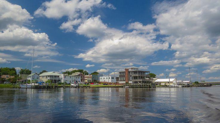 Swansboro Harbor where the White Oak meets Bogue Sound
