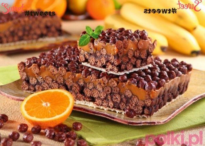 """Шоколадно-карамельный торт """"Несквик"""""""