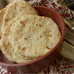 Homemade Flour Tortillas.  I just made these and this is and this recipe has my stamp of approval!  I used coconut oil, so I doubled the oil amount.  I also used my griddle & was able to do 3 tortillas at a time!