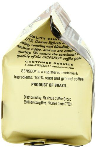 Senseo Coffee Pods, Dark Roast,18 Count (Pack of 6)  Senseo Douwe Egberts Dark Roast Coffee Pods , you can enjoy a perfect cup of coffee with a delicious frothy coffee layer any time of the day. Every cup is freshly brewed to give you the same full, smooth taste cup after cup. Douwe Egberts and Philips have together created the Senseo coffee machine and specially developed Senseo coffee pods. Only this combination ensures that the full, smooth taste and aroma are perfectly brewed for..