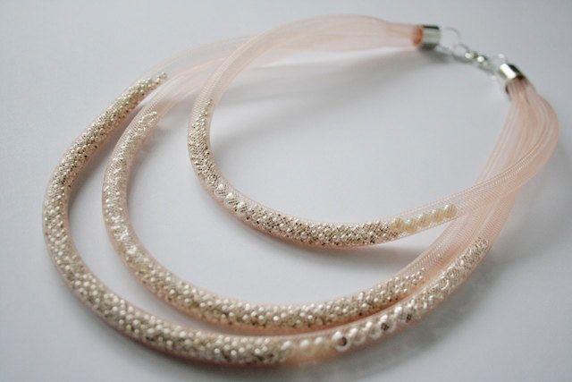 "necklace ""fog *"" by PatkaSmirnowjewelery on Etsy"