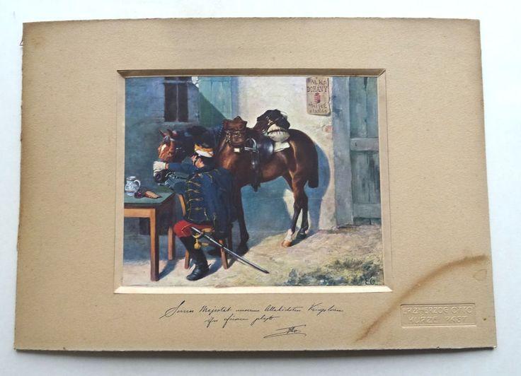 Austro Hungarian Monarchy kuk Habsburg Kaiserhaus Erzherzog Otto Husaren Perd