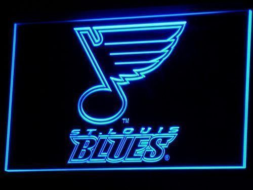 St. Louis Blues Sign Led Signs Neon Signs Home Man Cave B101-B