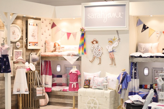 Booth of 'Out to Sea' Fabric at Quilt Market Spring 2012 by Sarah JaneCrafts Fair, Quilt Marketing Booths, Jane Studios, Booths Ideas, Sarah Jane, Marketing Ideas, Girls Room, Display Ideas, Fair Booths