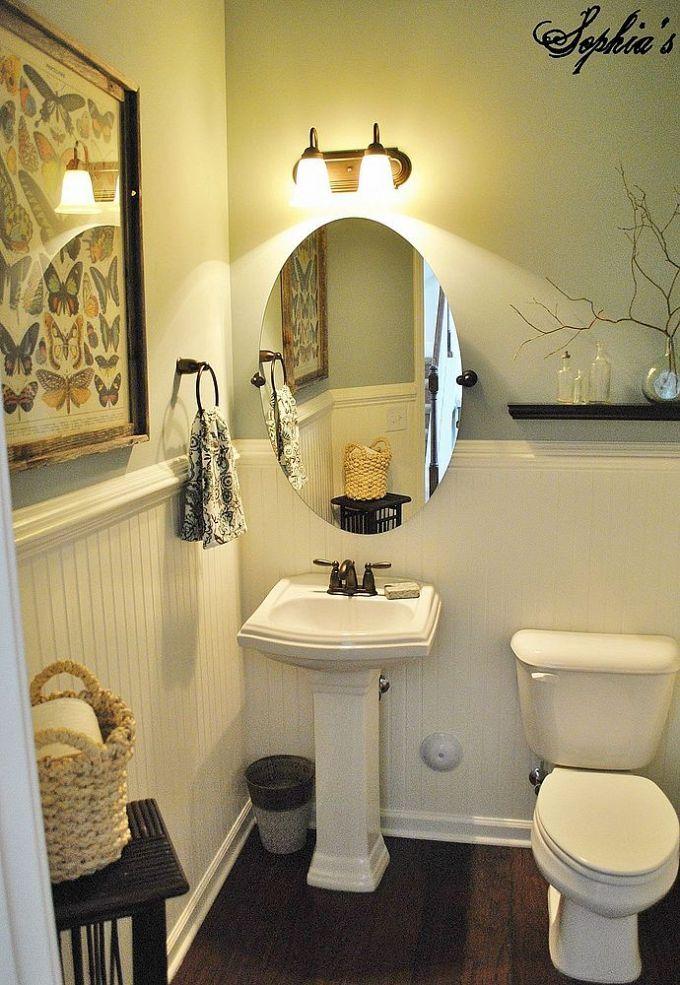 57 Best Powder Room Ideas Images On Pinterest Bathroom