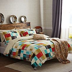 Scion - Multicoloured 'Navajo' Standard pillow cases