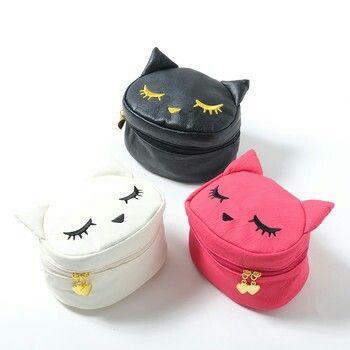cosmetiqueras bonitas gatitos