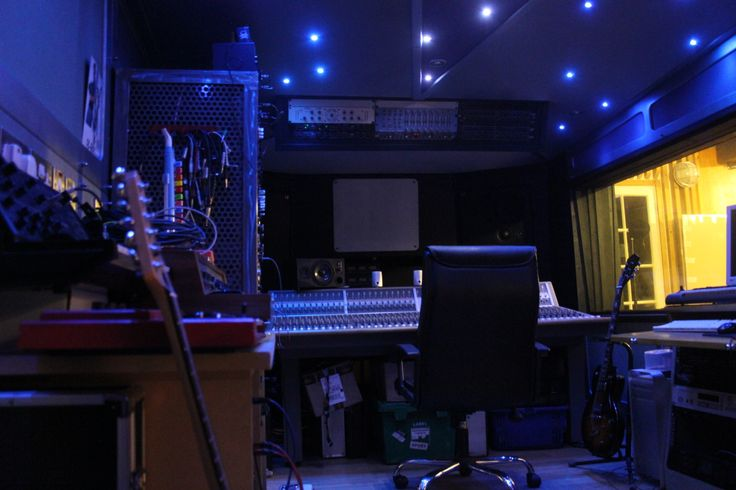 Incredible Alaska Studio Recording Studio Mood Lighting In The Control Room Largest Home Design Picture Inspirations Pitcheantrous