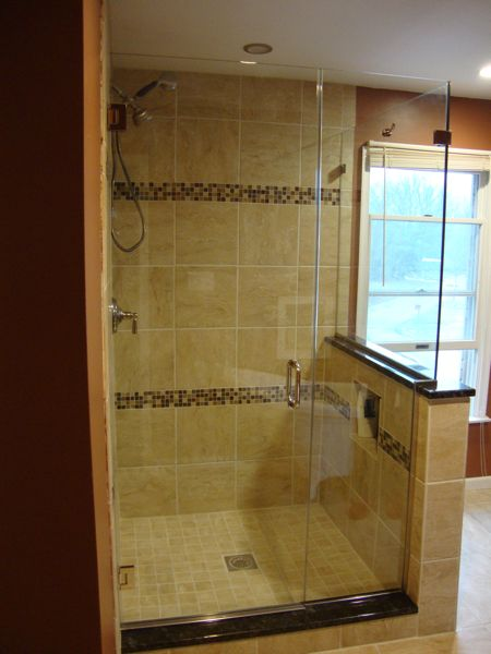 Bathroom Knee Wall 8 best shower wall images on pinterest | knee walls, bathroom