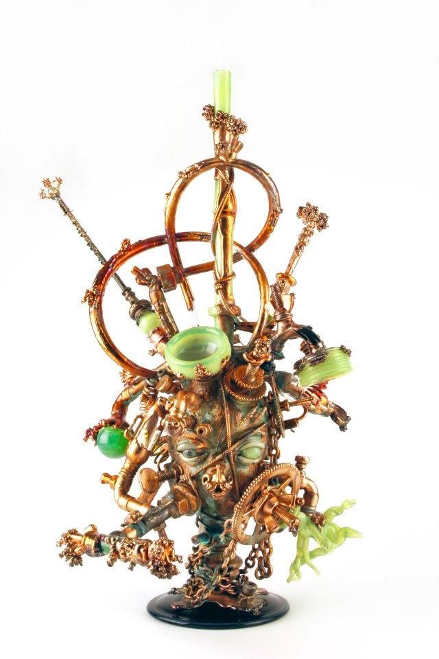 160 best Smokinu0027 Pipes \ Cannabis Glass Art images on Pinterest
