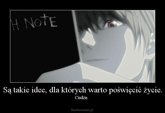 #Raito #DeathNote #Cytaty