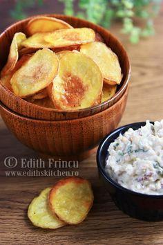 chipsuri de cartofi la cuptor 2