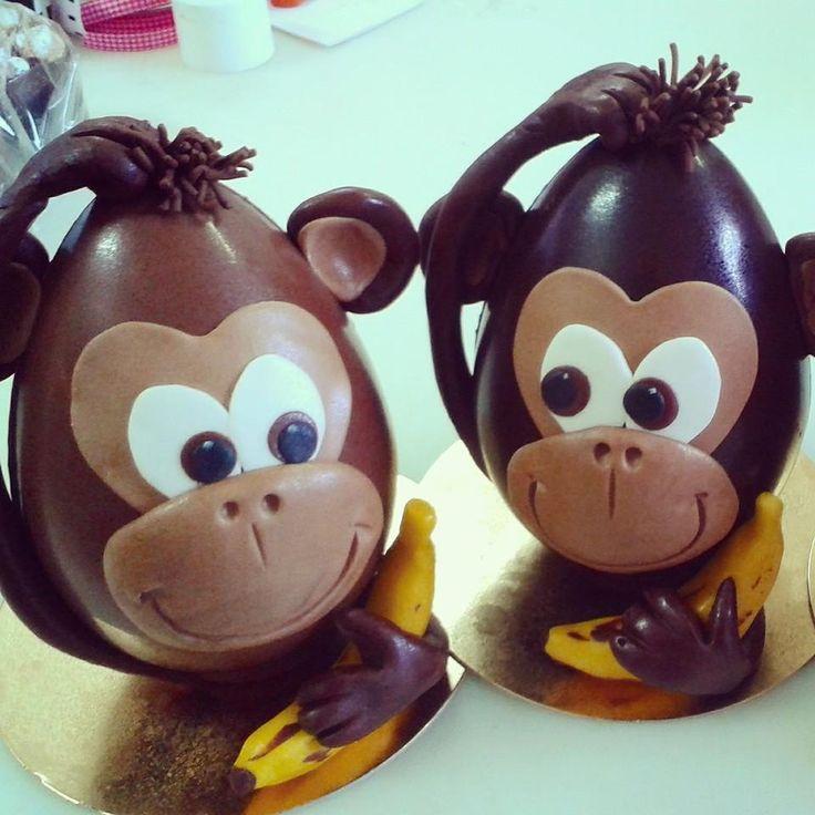 Le scimmiette di Pasqua http://www.simocakedesigner.it