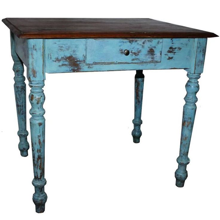Antique Farm Table | 1stdibs.com    Remove paint? Could work for Vanity?