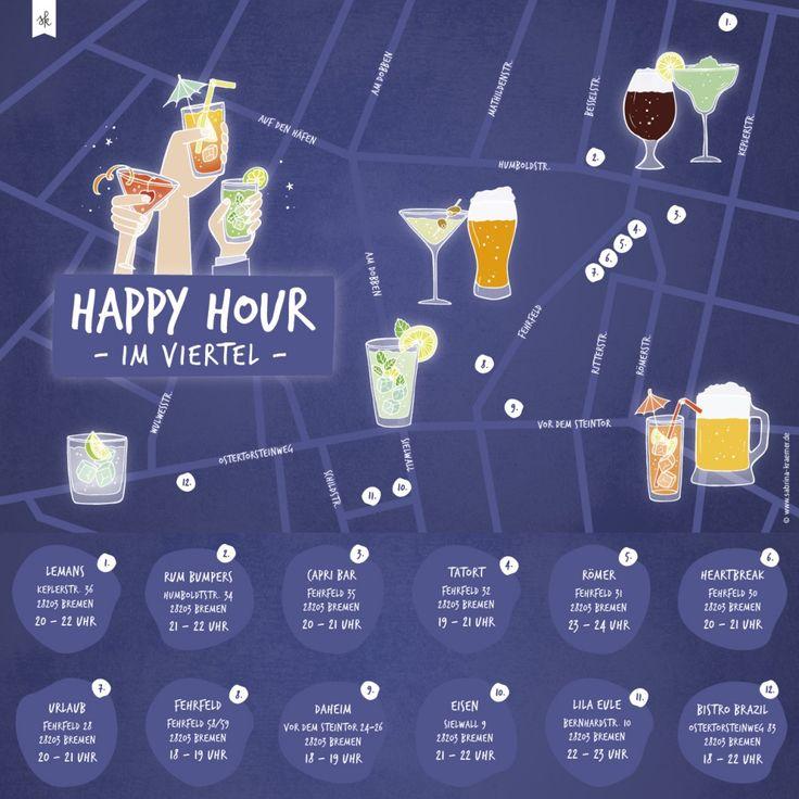 Happy Hour-Kneipen im Viertel Bremen | LOVEBREMEN