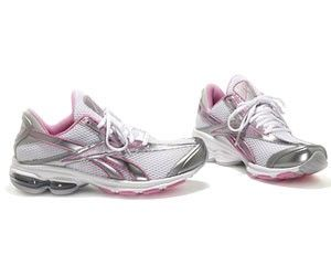 60% of the proceeds from the Reebok Avon Walk for Breast Cancer DMX Mega Walking Shoes go to the Avon Breast Cancer Crusade.