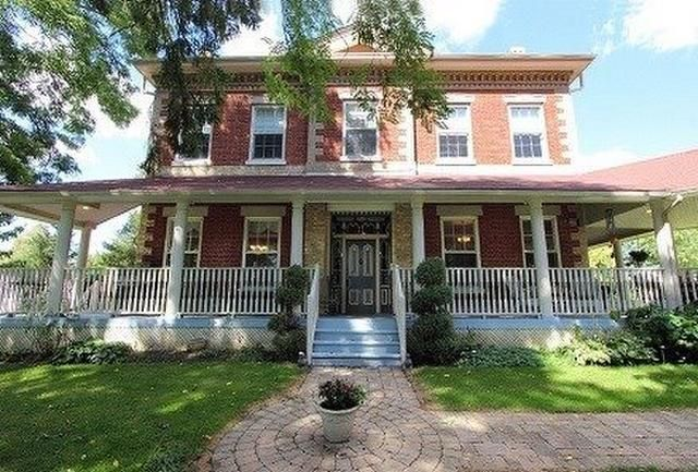 Stately Downtown Historical Estate With Pride Of Ownership. Once In A Lifetime Opportunity To Own A Fully Restored Century Home (Circa 1855)