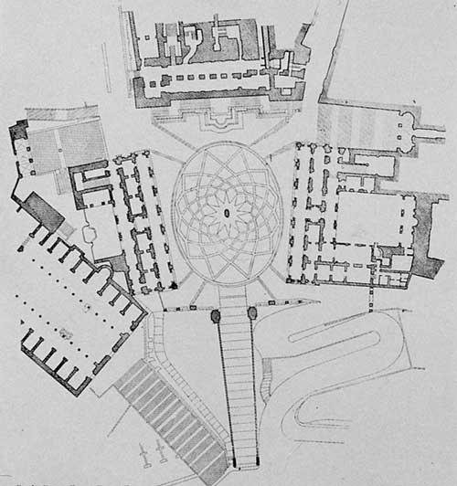 Michelangelo's Campidoglio, Rome