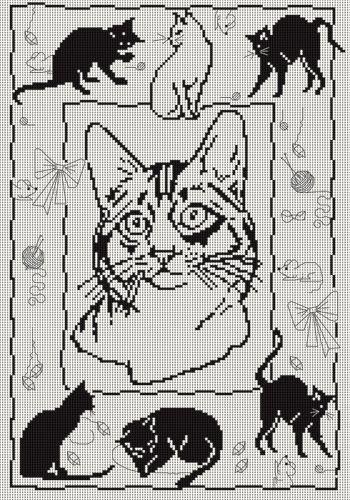 Gallery.ru / Фото #31 - черные кошки - irisha-ira