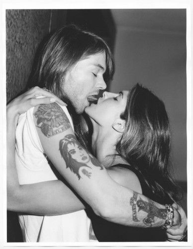 Bruce Weber Axl Rose et Stephanie Seymour