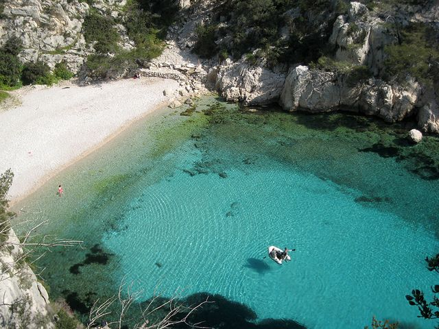 Marseille - Calanque. Seriously is just amazing! Wanna go back