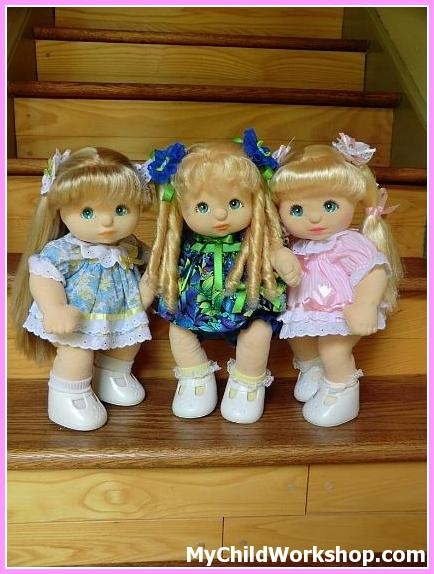 Three Sisters. My Child Dolls