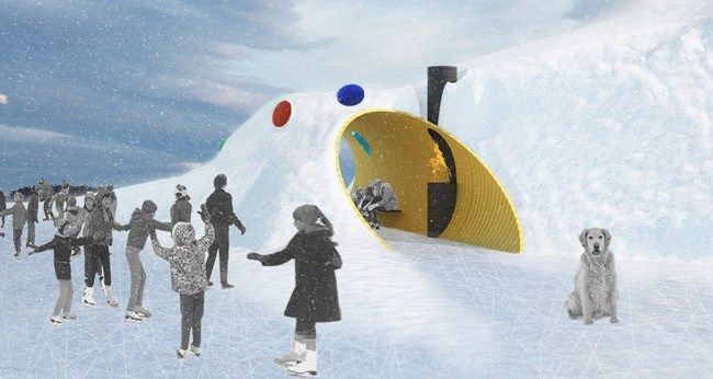 The Hole Idea designed by Weiss architecture and urbanism Ltd (Toronto) Hygge urbanism