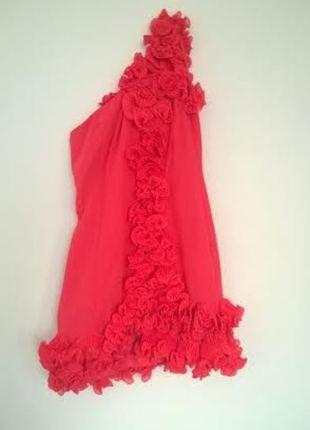 Kup mój przedmiot na #vintedpl http://www.vinted.pl/damska-odziez/krotkie-sukienki/11076767-niepowtarzalna-sukienka-na-jedno-ramie-lipsy-38