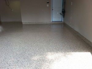 Beautiful garage floor in Edison, New Jersey Global Garage of Central New Jersey #garagefloor #concretefloor