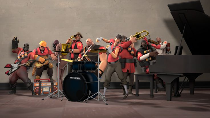 Band Fortress 2 [SFM] #games #teamfortress2 #steam #tf2 #SteamNewRelease #gaming #Valve