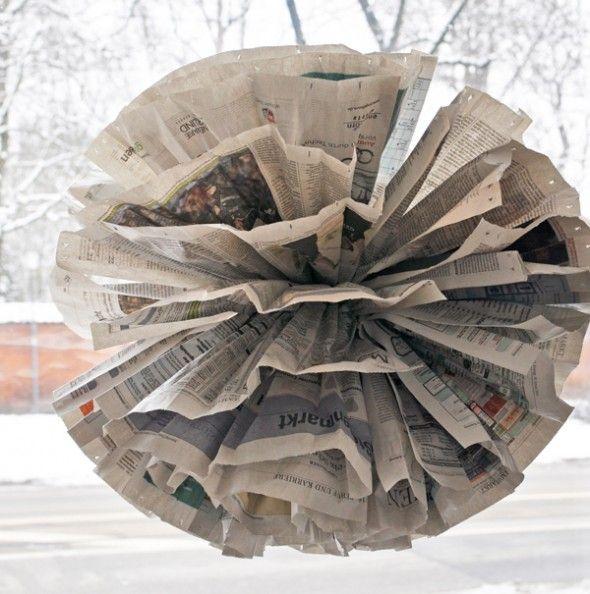 """Zeitungsständer Holz Anleitung ~ Über 1 000 Ideen zu """"Basteln Mit Zeitungspapier auf Pinterest"""