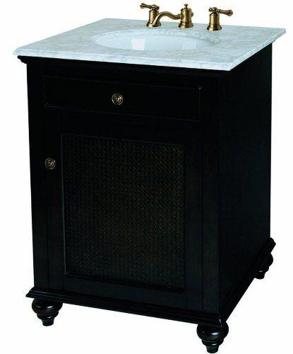 Pegasus F10 AE 002 1A Bimini 24Inch Vanity Cabinet, Espresso
