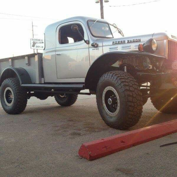346 Best Images About Dodge Flat Fender Power Wagons On