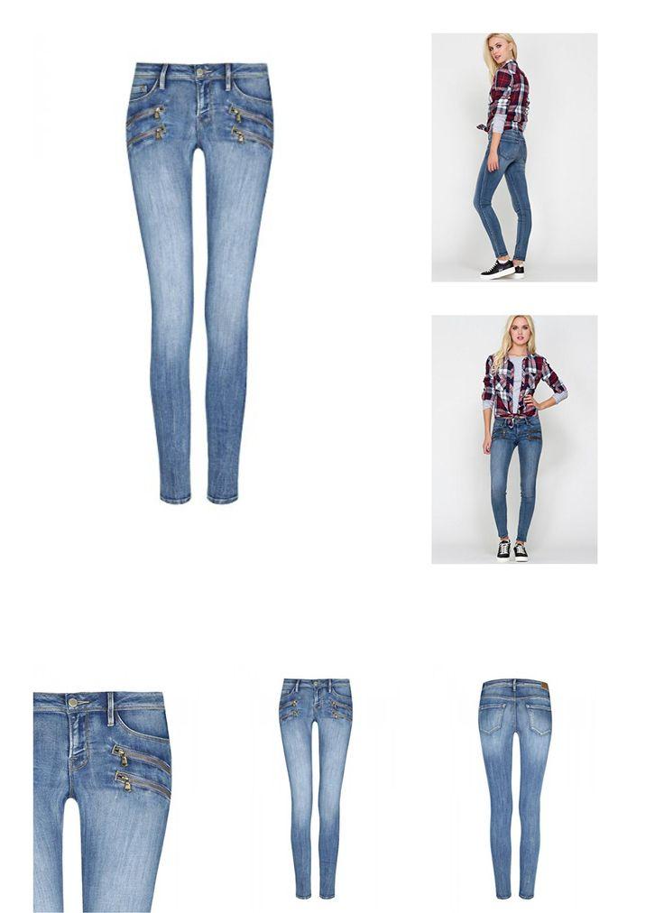 Only damen bootcut jeans new princess super low