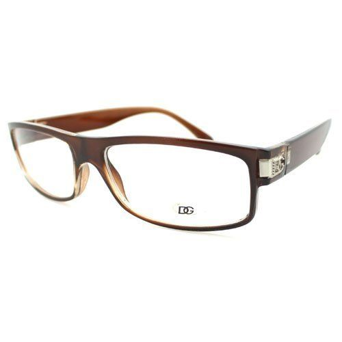 Chris Brown Round Clear Lens Glasses