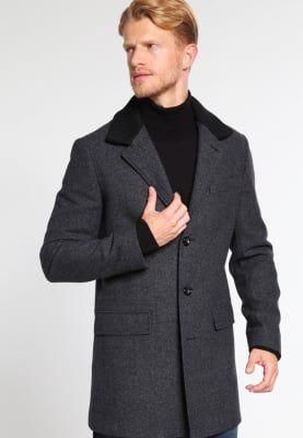 Pier One Krótki płaszcz - mottled dark grey za 549 zł (11.10.16) zamów bezpłatnie na Zalando.pl.