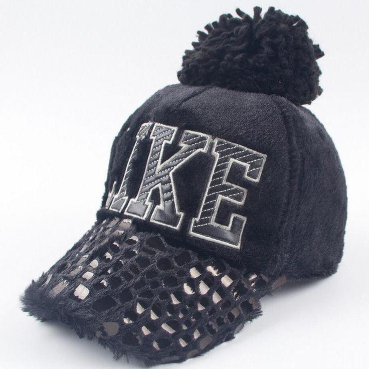 New 2016 free shipment Fashion Design winter hat woolen Hats Embroidery fashion Baseball hat nice