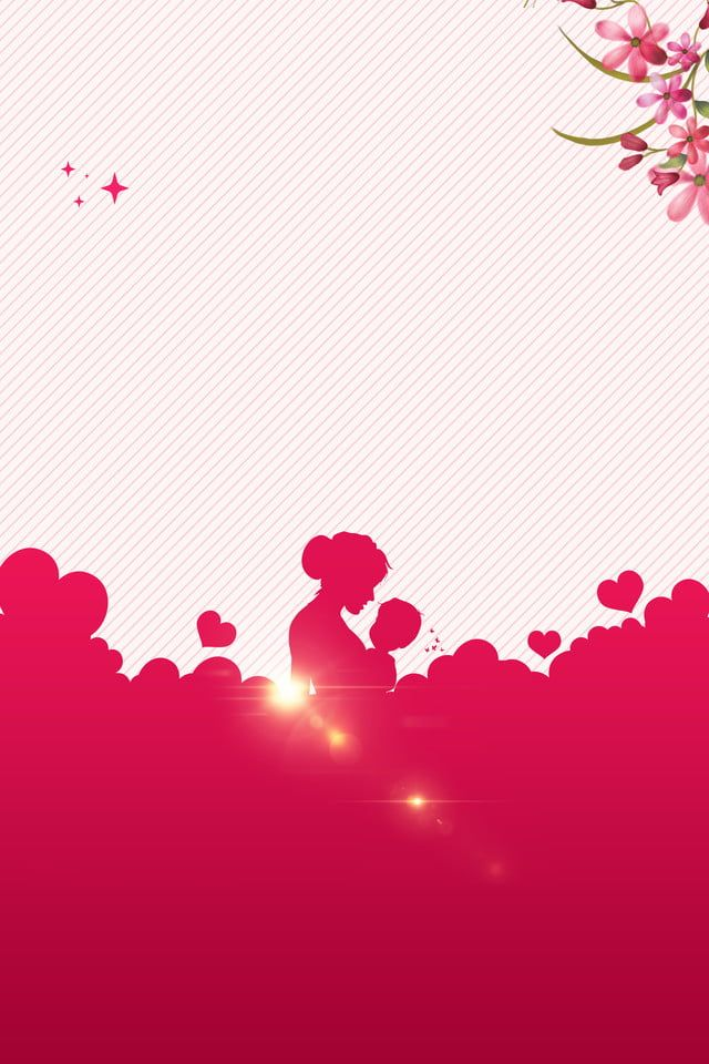 Latar Belakang Poster Pink Siluet Bunga Ibu Hari Ini Merah Jambu Hangat Bunga Gambar Latar Belakang Untuk Unduhan Gratis Latar Belakang Kartu Bunga Bunga