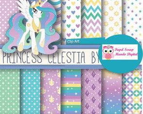 papel digital 23-10 Princesa celestia