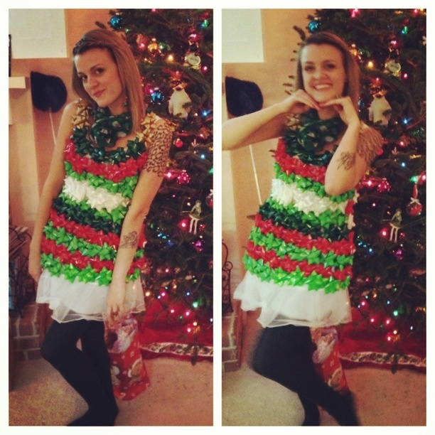 Wacky Christmas Party Ideas Part - 18: #christmas #tacky #party #dress