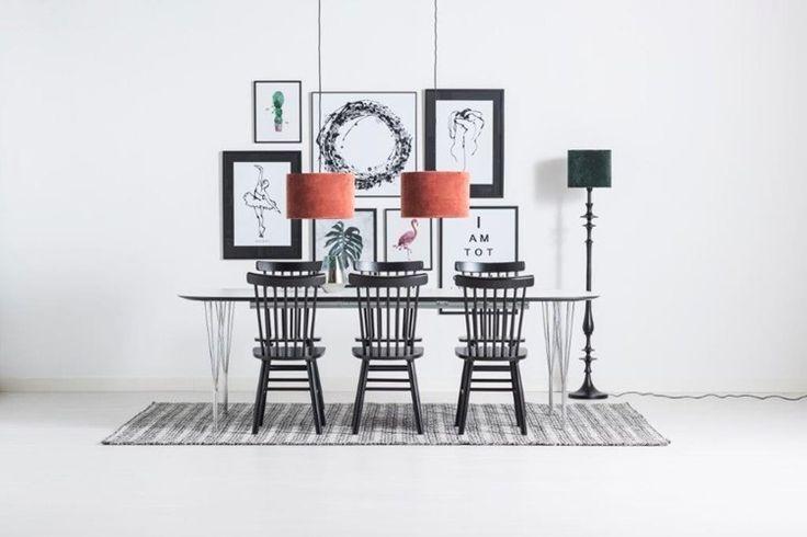 Sting + Orust bord/matgrupp - bord + 6 stolar - Svenska Hem